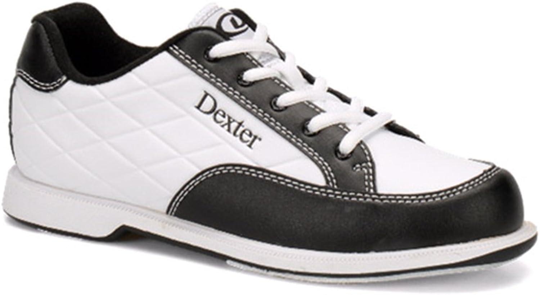 Dexter Men's Groove III Ladies Wht Blk wide size 9.0, White Black