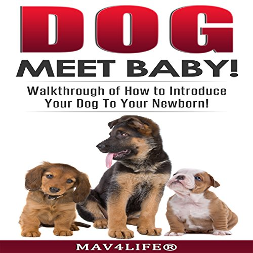Dog Meet Baby! audiobook cover art
