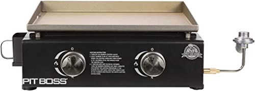 PIT-BOSS-PB336GS-2-Burner-Table-Top-LP-Gas-Griddle-Cover-Included