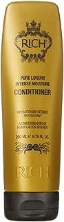 RICH Pure Luxury Intense Moisture Conditioner with Hydrolyzed Keratin, 6.75 FL OZ