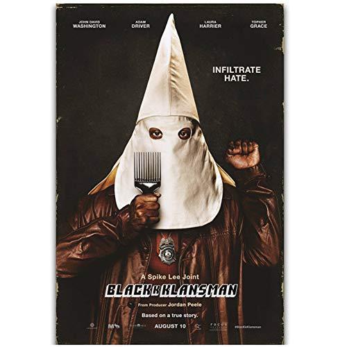 dubdubd Black Klansman 2018 New Movie Film Wall Art Painting Print On Canvas Poster Home Decoration Gift Artwork -50X70Cm No Frame 1 Pcs
