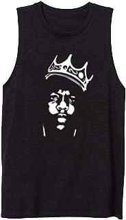 Womens Biggie Smalls Notorious Big Crown Casual Tank Vest Sleveless Tops Shirts