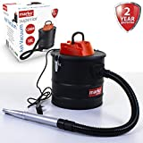 Marko Electrical 1200W Ash Vacuum Hoover Fireplace Cleaner Wood Burner Fire Pits Bagless Debris