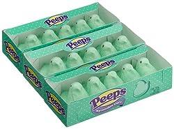 Marshmallow Peeps Green Chicks