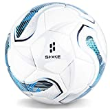 SHOKE Soccer Ball Size 5 Official Size Soccer Ball, Thermal Bonded Training Slip Resistant Hold Air Outdoor/Indoor Match or Game Soccer Balls for Kids and Adults - Rebound Height 51.18-53.15 inch