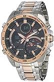 Best Casio Edifice Watches - Casio Edifice Analog-Digital Black Dial Men's Watch-ECB-900DC-1ADR (EX517) Review