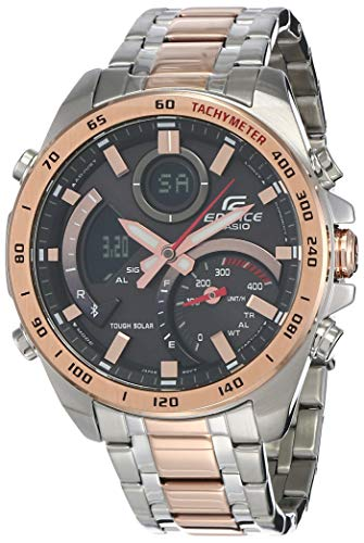 Casio Edifice Analog-Digital Black Dial Men's Watch ECB-900DC-1ADR(EX517)