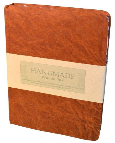 Speedball Art Products Hand Book Watercolor Journal, 9' x 12' Portrait, White