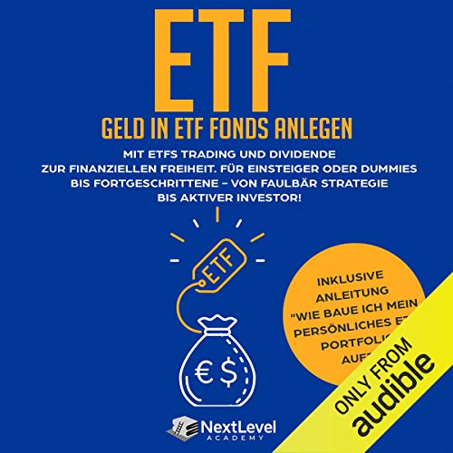 ETF-Geld in ETF Fonds und Indexfonds anlegen Titelbild