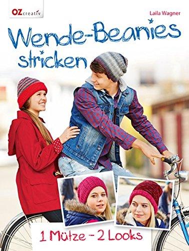 Wende-Beanies stricken: 1 Mütze - 2 Looks