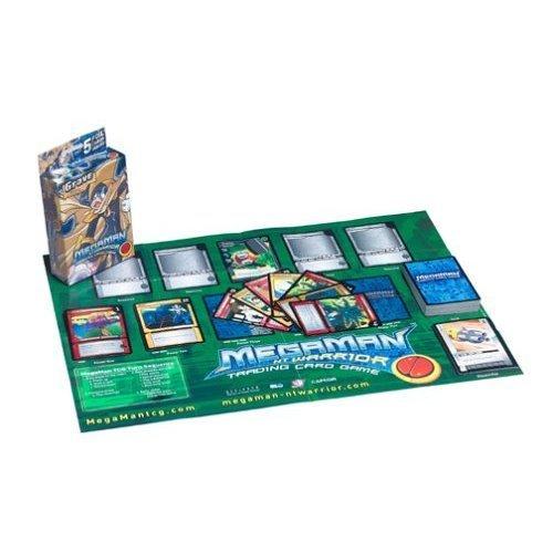Megaman Mega Man NT Warrior Trading Card Game Grave Starter Deck Bass...