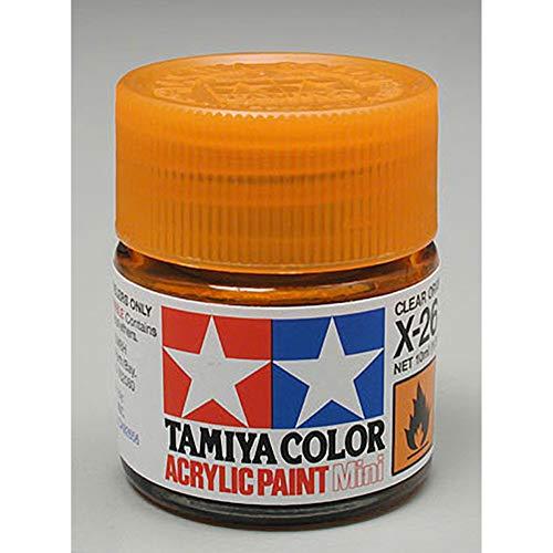 Tamiya 81526 X-26 Peinture Acrylique Orange translucide