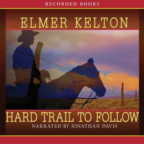Hard Trail to Follow audiobook cover art