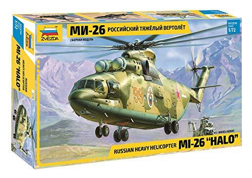 Zvezda - Modellino Elicottero Mil Mi-26 Halo Russian Heavy- Scala 1:72