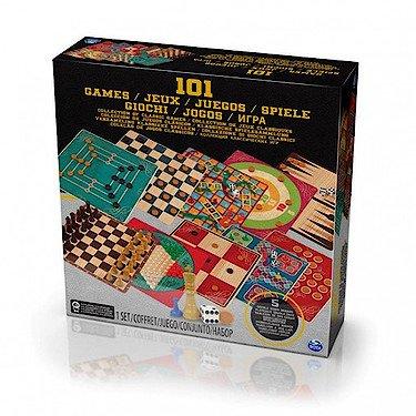 Red Bird SpinMaster – 101 Jeux – Collection de Jeux Classiques