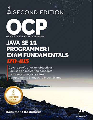 OCP Oracle Certified Professional J…