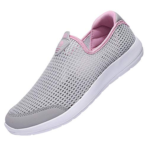 CAMEL CROWN Womens Lightweight Breathable Non Slip Sneaker Mesh Quick Drying Beach Sandals Water Shoes