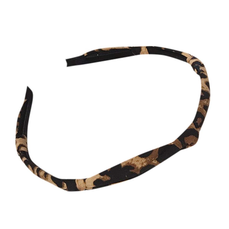 Women's Leopard Headband Boho Printing Twist Hairband Casual Headband Yoga Hair Strap Hoop Wrap Hairband Accessories