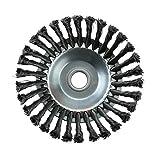 Spazzola per erbacce Giunto rotante Nodo a spirale Cavo in acciaio Spazzola a disco Dischi...
