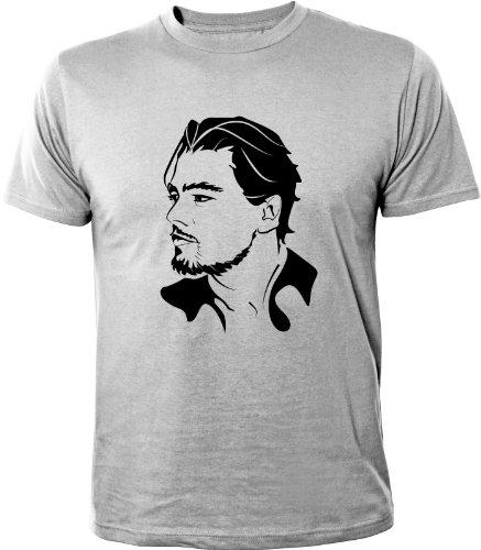 Mister Merchandise T-Shirt Leonardo Di Caprio - Uomo Maglietta S-XXL - Molti Colori