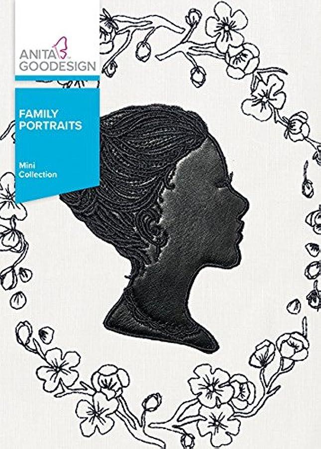 Anita Goodesign Embroidery Machine Designs CD Family Portraits