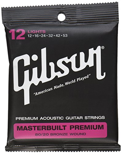 Gibson Gear SAG-BRS12 Masterbuilt Premium Saiten .012 - .053