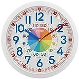 セイコー クロック 掛け時計 知育 アナログ 白 KX617W SEIKO