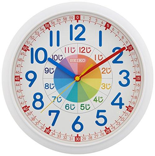 SEIKO(セイコークロック)『知育時計(KX617W)』