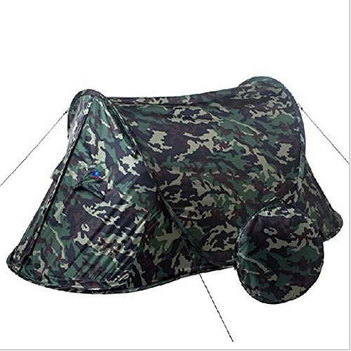Will Outdoor 2 Personen verwenden ultraleichte Tarnung, um das Zelt automatisch zu öffnen. Wasserdicht und UV-beständig, leicht zu tragen ist die Beste Wahl für Camping und Angler