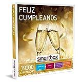SMARTBOX - Caja Regalo - Feliz cumpleaños - Idea de Regalo - 1 Experiencia de Estancia, gastronomía, Bienestar o Aventura para 1 o 2 Personas
