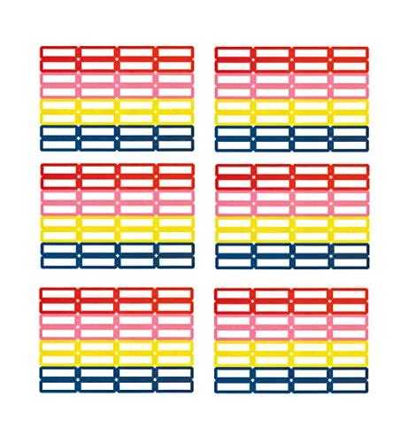 192 Etichette adesive scuola etichette per matite 35 x 10 mm etichette scolastiche per matite e penna per la scuola materna e la scuola