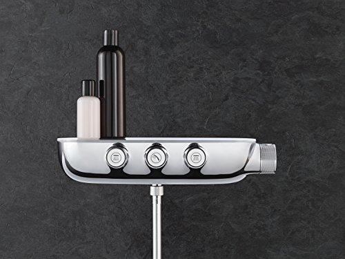 GROHE Duschsystem Unterputz Rainshower Smartcontrol 360 Duo Brausen- und Duschsystem mit Thermostatbatterie auf-/Unterputz Kombination, chrom   26443000 - 6