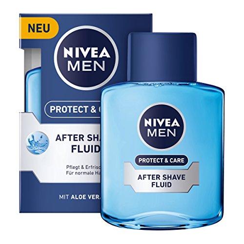 Nivea Men Protect & Care After Shave Fluid im 3er Pack (3 x 100 ml)