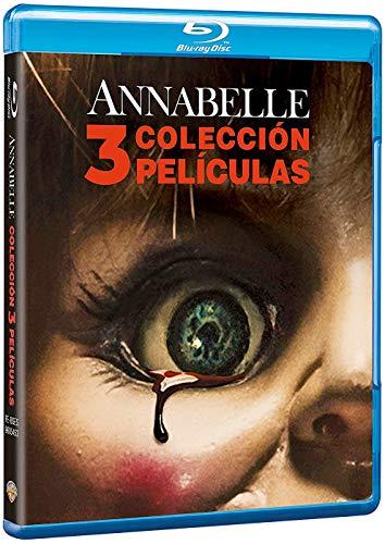 Annabelle Colección 3 Películas Blu-Ray Blu-ray