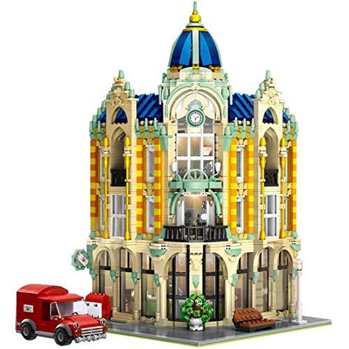 CYGG Building Building Kit, 4030pcs DIY Building Modely Kit, Edificio de Regalo de Juguete Educativo para Adultos y Oficina de Corners de niños