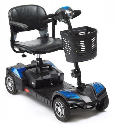Scout Portabel 4mph Reise Car Boot Mobilitätshilfe - Blau