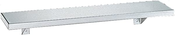 Bobrick 296 Stainless Steel Shelf Satin Finish 18 Length X 6 Width