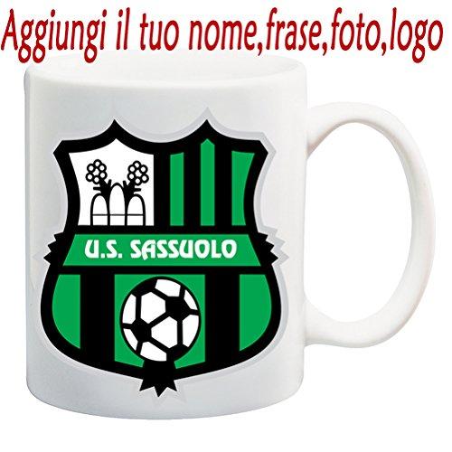 Tazza Mug U.S. Sassuolo Calcio Personalizzata con Nome,Frase,Foto ECC. Idea Regalo