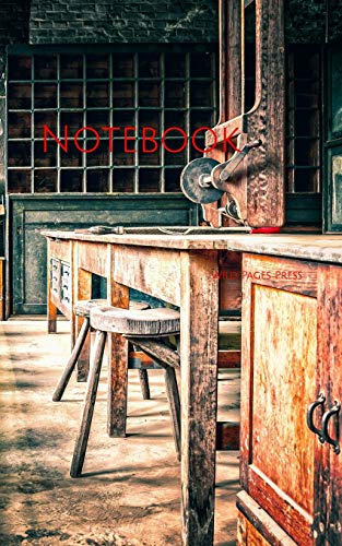Notebook: Work Workplace Nostalgia Table Chair Warehouse Manufacturer