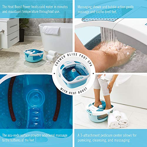 How to clean HoMedics foot spa