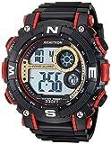 Armitron Sport 40/8284 Reloj cronógrafo digital para hombre, Negro