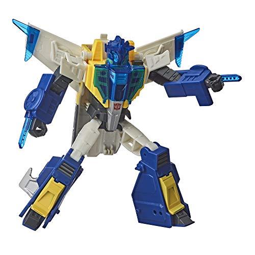 Transformers E8375 Hasbro – E8227 Cyberverse: Adventures – Meteorfire – Actionfigur, verwandelbar