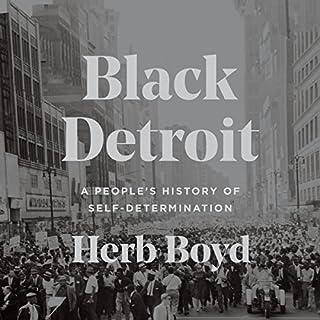 Black Detroit audiobook cover art