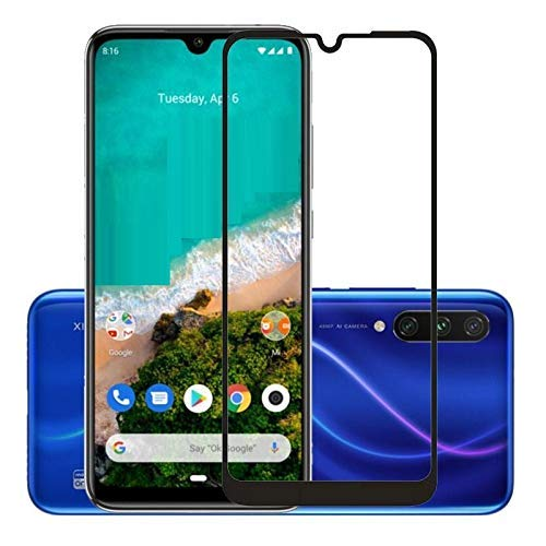 Lustree Xiaomi Mi A3 5D Tempered, Lustree Full Edge To Edge Coverage...