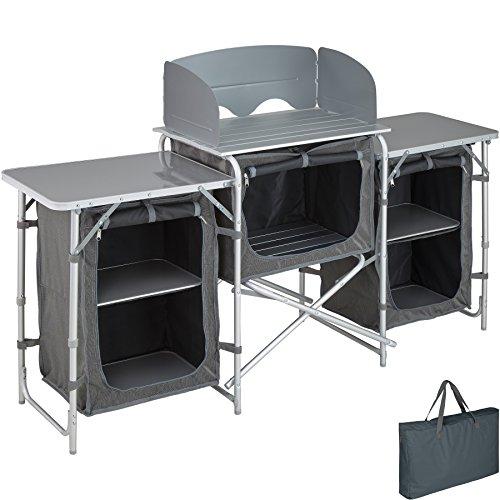TecTake 800585 Outdoor Camping Küche - Diverse Modelle wähblar - (Typ 1 | Nr. 402919)