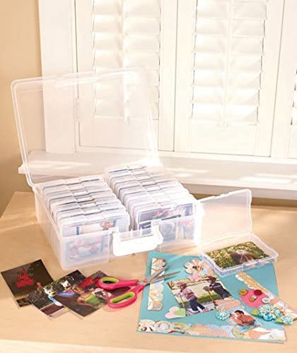 wholesale Christmas Photo Organizer Case Holiday Gift Idea Sort & Store 1,600 new arrival photos outlet online sale Scrapbooking outlet online sale