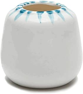 Plant container Personality Simple Ceramic Basin White Mobile Glazed Home Garden Desk Surface Desk Decoration Plant dish (Color : E)