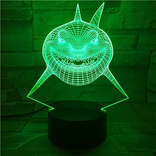3D Illusion LED décorative lumière de nuit Enfants Chambre enfant Lampe Beau cadeau Princesse Esprit veilleuses lampe unique changement de couleur lumière de nuit