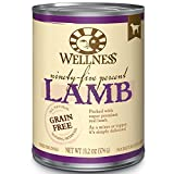 Wellness 95% Lamb Grain-Free Canned Dog Food, 13.2 Ounces, Pack of 12