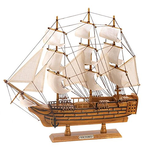 StealStreet SS-KHD-D1296 HMS Victory Ship Collectible Model, 19